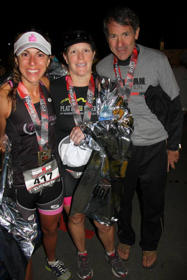 Liz, Lori, and Tim after finishing Ironman Canada 2013